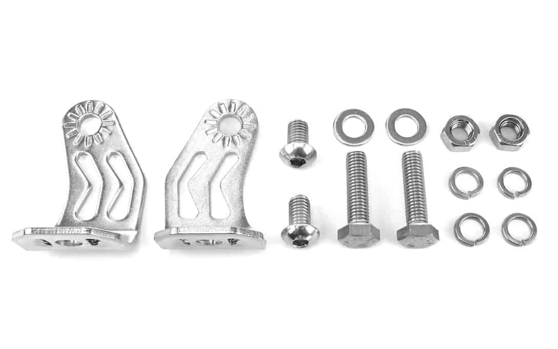 stainless steel double row leg mounting kit