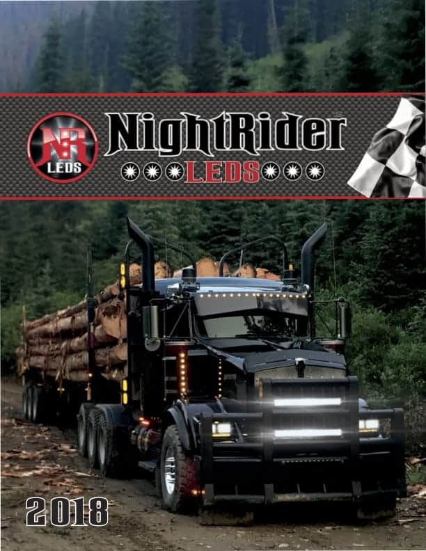 NightRider LEDS 2018 Product Catalog contains all of NightRiders Products available now!