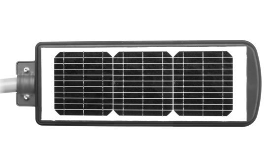 Top View of 30W Solar Light