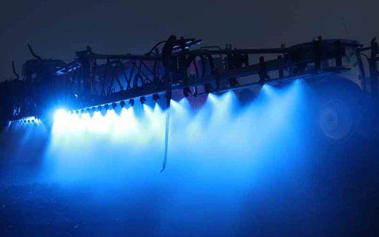 Crop Spray Light in Action